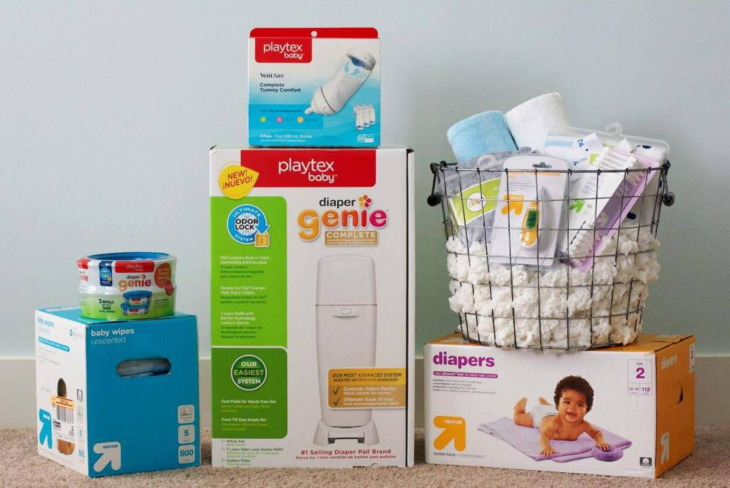 10 Nursery Favorites for Baby's First Year | Southern Made Blog Whether you're a pregnant and going to be a first time mom, a seasoned mama, or buying for one, these are my must haves that will get you through the entire first year with baby. @Target @Playtex Baby #NurseryMusts #ad
