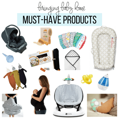 Bringing Baby Home | Must-Have Products