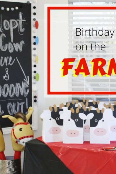 Harper's 2nd Birthday on the Farm