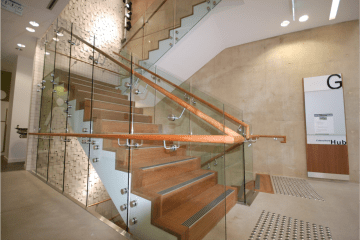 Southern Stainless - Caboolture Signature Centre, balustrade, stainless steel