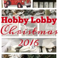 {Weekend Shopping} Christmas at Hobby Lobby