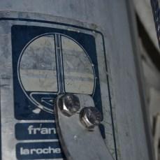 France Spar make good strong masts. lets hope my bolts do not weaken it.