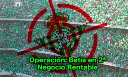 Teoría conspiranoica para mantener al Betis en 2ª División