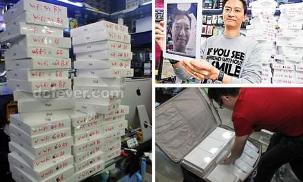 El suculento negocio de vender iPads 2 en el mercado gris