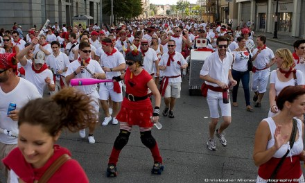 Descubre los encierros de San Fermín en Nueva Orleans