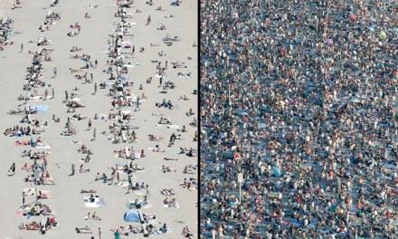 Fantástico timelapse de una playa de Vancouver durante el Celebration of Light