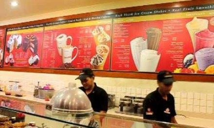 Así se sirve el helado en Dubai