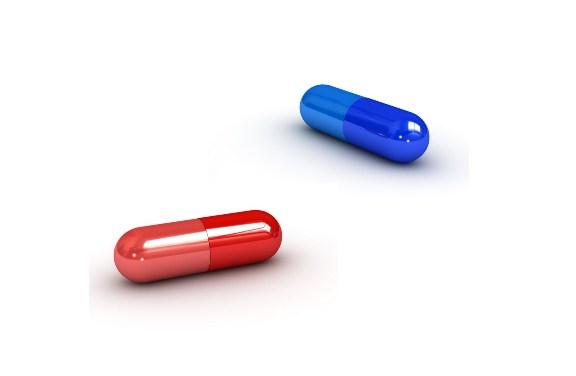 El dilema de la pastilla roja y la pastilla azul