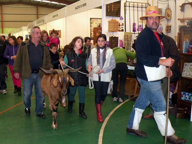 Feria de la cecina de Chivo de Vegacervera / turleon-autocaravanista