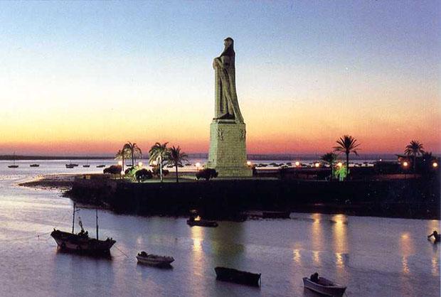 Monumento a Colón, Huelva