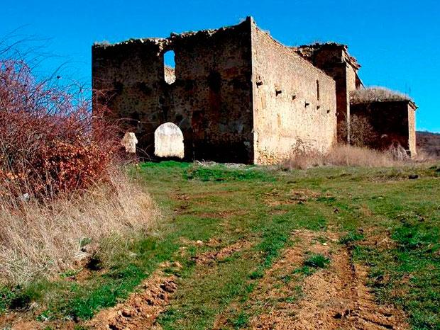 Ermita de Santa Catalina, en Cabrera de Almanza
