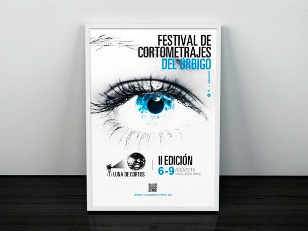 Cartel del Festival de Cortometrajes del Órbigo 2015