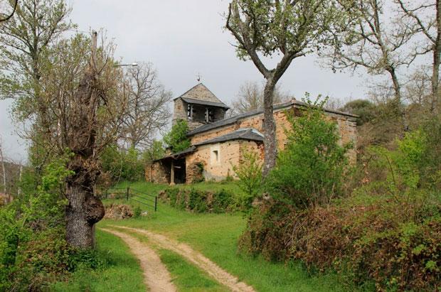 Iglesia de Argañoso en la Maragatería / Ayto de Santa Colomba de Somoza