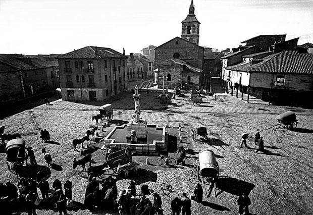 Plaza del Grano en 1955
