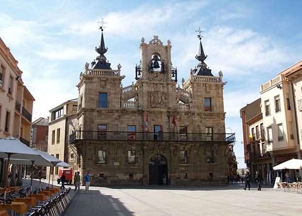Fachada del Ayuntamiento de Astorga