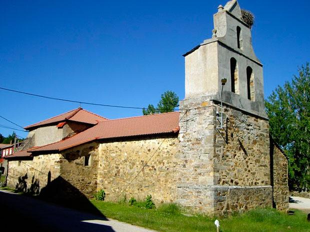 Iglesia de Rabanal Viejo en La Maragatería