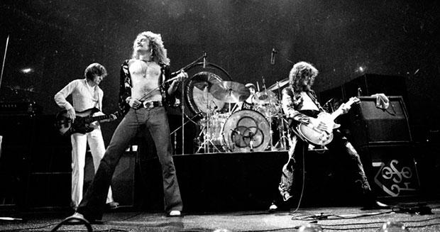 Led Zeppelin en concierto