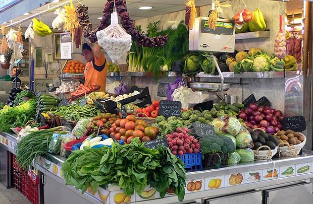 Mercado local alimentacion ecologica