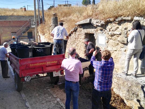Bodega en la Ruta del Vino de Cigales