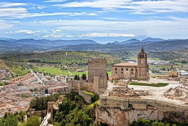 Fortaleza de la Mota en Alcalá la Real (Jaén)