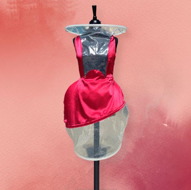 Vestido de Diana Buceta inspirado en Ribera del Duero