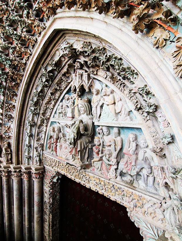 Santa María la Real de Olite Navarra