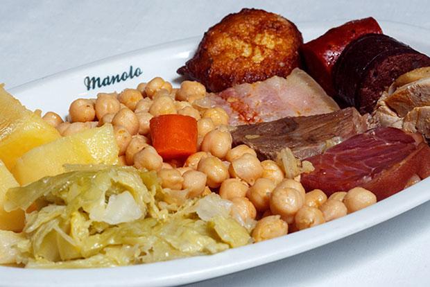 El cocido madrileño de Manolo Restaurante