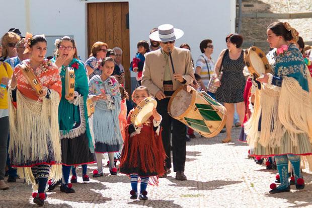 Romería de Santa Eulalia de Almonaster la Real (Huelva)