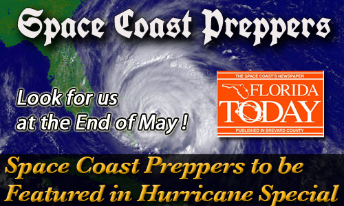 Space Coast Preppers to be Featured in the FL Today Hurricane Special Section