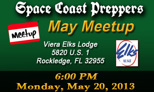 May Meetup! - Space Coast Preppers.com