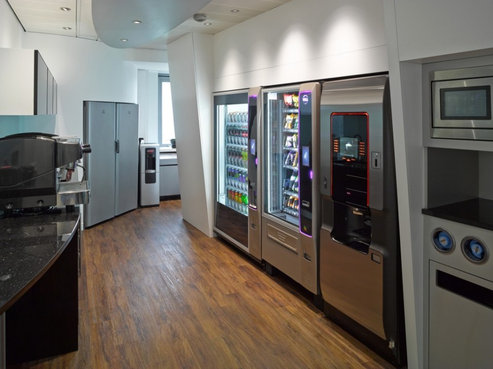 Image of Commercial Kitchen Fit-out office kitchen and vending area