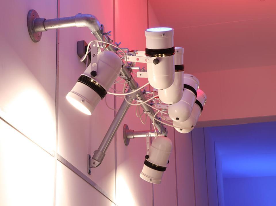 Picture of bespoke office lighting scheme