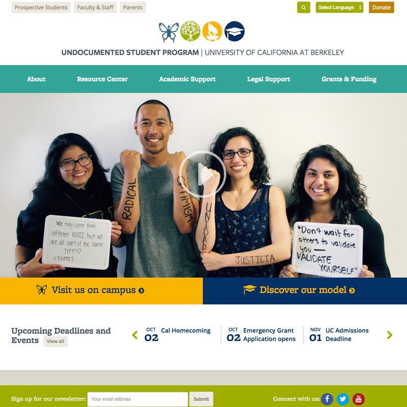 Undocumented Student Program UC Berkeley