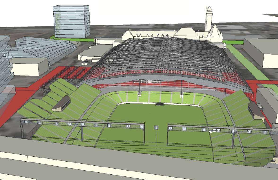 Space architecture design an mls stadium as better for Space planning architecture