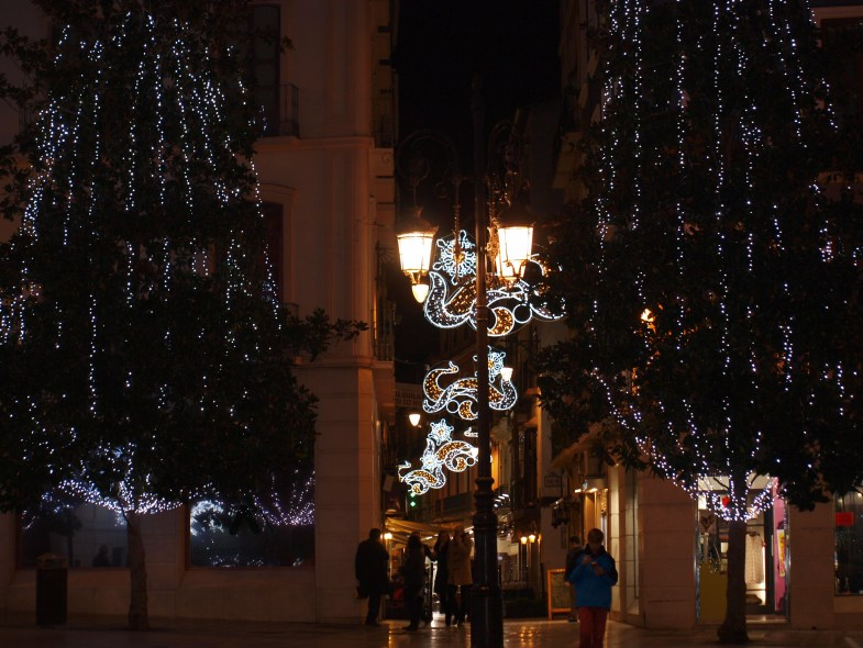 Granada, Christmas, lights,