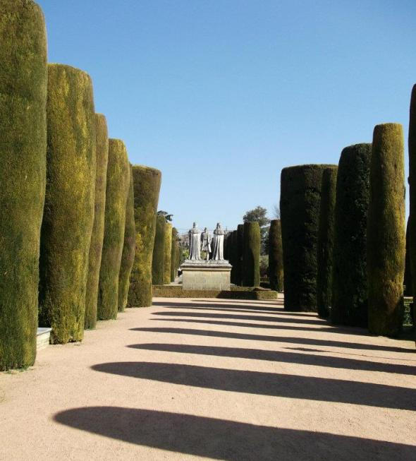 Alcázar Gardens, Cordoba, Spain