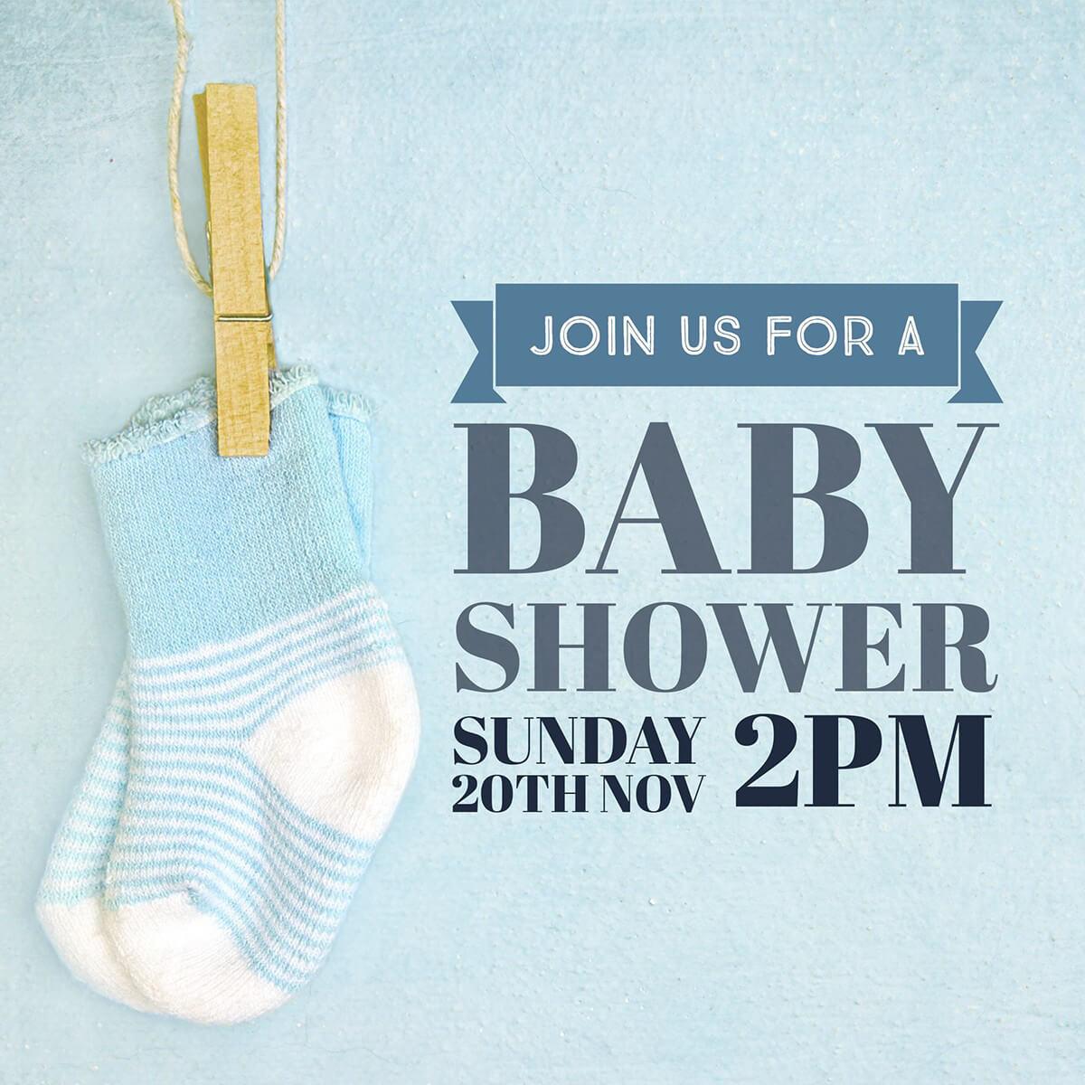 Fullsize Of Baby Shower Boy
