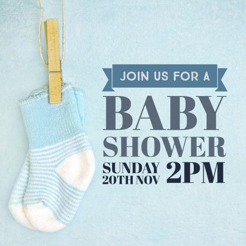 Medium Of Baby Shower Boy
