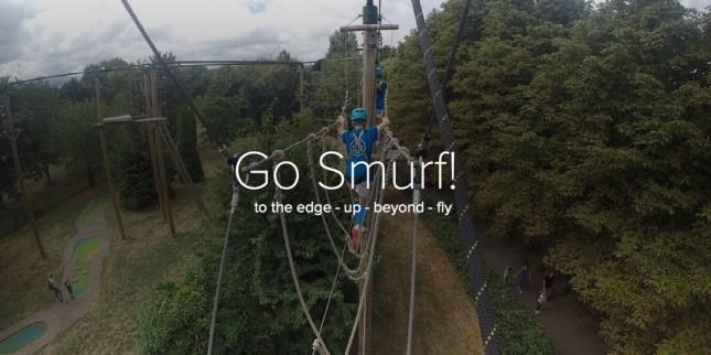 Go Smurfs!
