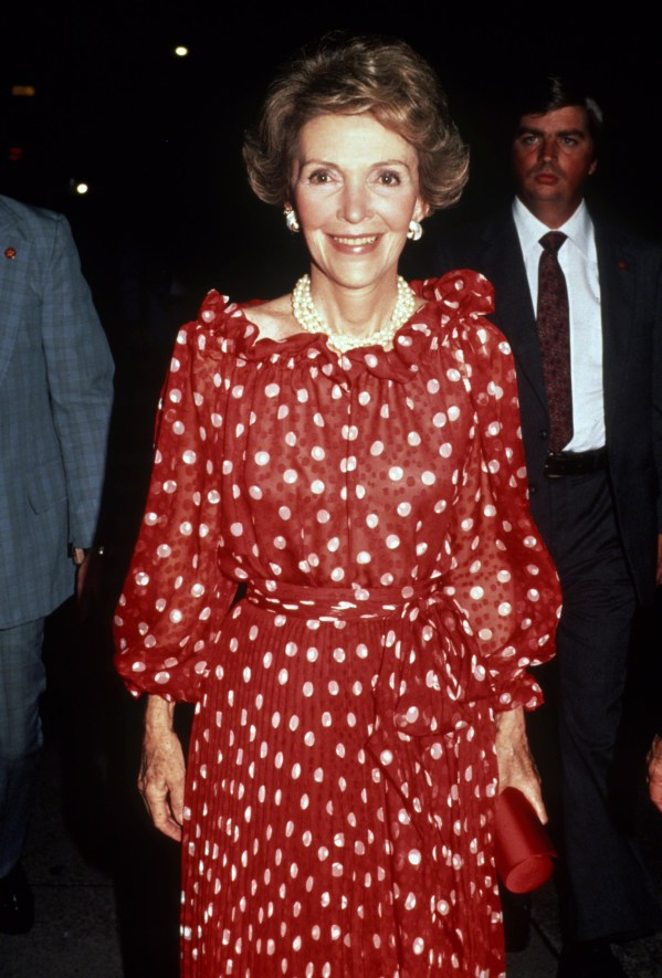 First Lady Nancy Reagan