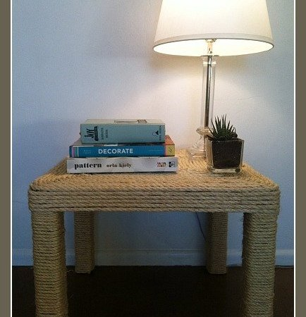 Sisal Rope Table
