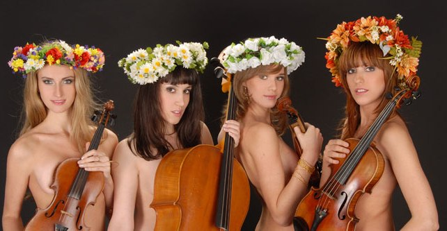 nude-string-quartet