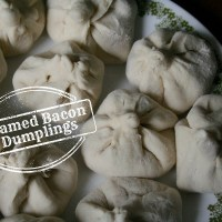 Bacon Week 2015: Steamed Bacon Dumplings