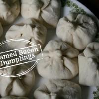 Bacon Week 2015: Steamed Bacon Dumplings