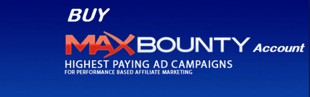 Approved Maxbounty CPA Publisher Account