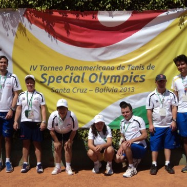 IV TORNEIO PAN AMERICANO DE TÊNIS SPECIAL OLYMPICS