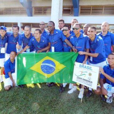 Seleção da SOB já está em Assunção para a Copa América de Futebol Special Olympics  – Dr. Nicolaz Leoz
