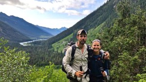 Pacific Crest Trail hikers Ross Scherer and Anna Herby took the southbound route to enjoy a quieter experience. They said they enjoyed the scenery, as in this shot taken in Central Washington. Photo courtesy of Anna Herber.