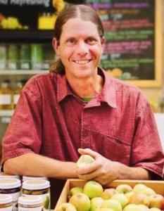 Michael Wangler portrait Sky Island Organics
