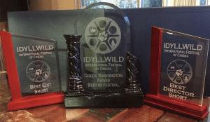 """Brix and the Bitch"" won seven awards at Idyllwild. Photo courtesy: Nico Raineau."